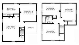 3 bedroom home meadville housing corporation for 3 bedroom floor plan with dimensions pdf